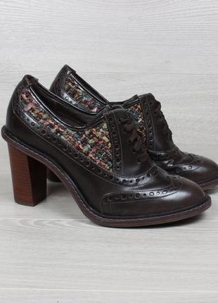 Туфли на каблуке clarks оригинал, размер 38 - 38.5 (ботильоны ...