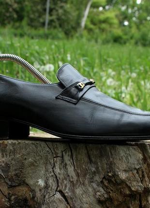 Кожаные мужские туфли лоферы bally made in italy, размер 41 - ...