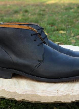 Мужские кожаные английские ботинки john white, размер 43 (dese...