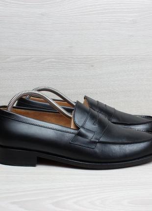 Кожаные мужские туфли лоферы john mac gray, размер 42