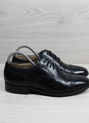 Мужские кожаные туфли броги loake england, размер 41