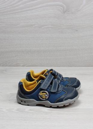 Кожаные детские кроссовки на липучках clarks lights оригинал, ...