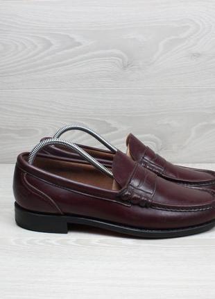 Кожаные мужские туфли лоферы timberland usa оригинал, размер 4...
