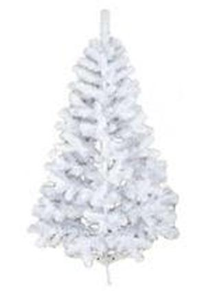 Елка натуральная белая С026 высота 240см пленка ПВХ (скрутка н...