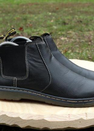 Кожаные ботинки челси dr.martens chelsea оригинал, размер 38