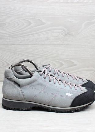Треккинговые кроссовки lomer, размер 38 (vibram, замша, мембрана)
