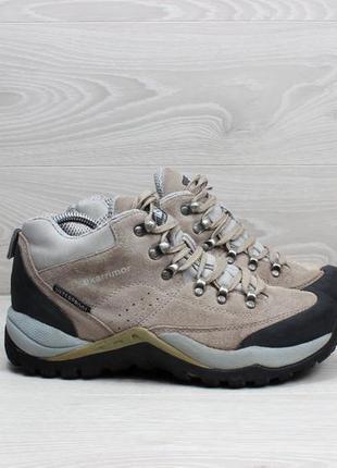 Треккинговые зимние ботинки karrimor waterproof, размер 41