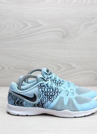 Голубые спортивные кроссовки nike оригинал, размер 36