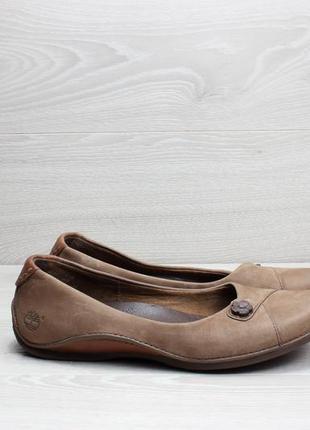 Кожаные женские балетки timberland оригинал, размер 37 - 38 (т...