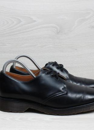 Мужские кожаные туфли dr. martens оригинал англия, размер 41