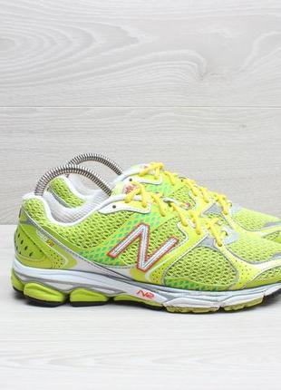 Яркие спортивные кроссовки new balance оригинал, размер 38 (бе...