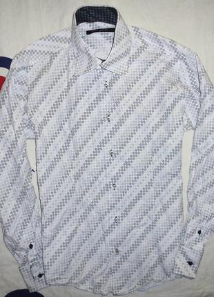 Мужская белая рубашка guide london, размер l