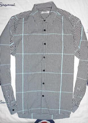 Легкая мужская рубашка topman, размер s