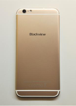 Задняя крышка Blackview Ultra Plus Gold (Оригинальный разукомп...