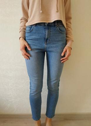 Женские джинсы mom от marks&spencer, размер 10 (s)