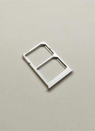 Держатель Сим-карт Xiaomi Mi 5 Silver