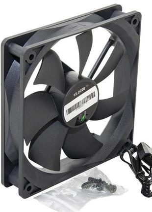Вентилятор UPower UP12025HB34.15 120мм, 3pin+Molex