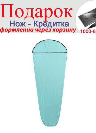 Вкладка для спального мішка Naturehike Блакитний