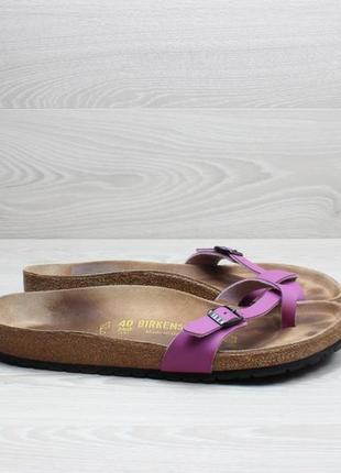 Женские шлепанцы birkenstock оригинал, размер 40 - 41 (вьетнамки)