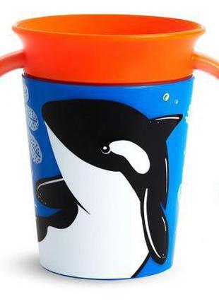 Поильник-непроливайка Munchkin Miracle 360 Trainer cup Косатка...