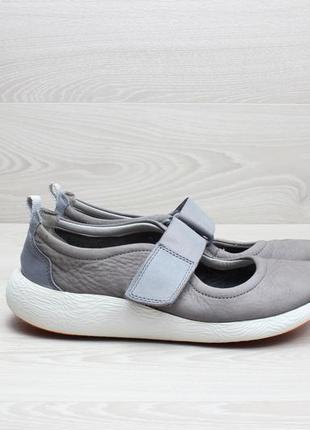 Кожаные женские туфли clarks оригинал, размер 38.5 - 39 (балетки)