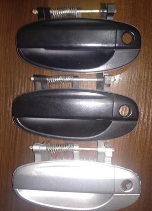Ручка двери наружная передняя Шевроле Авео Т200 Оригинал в идеале