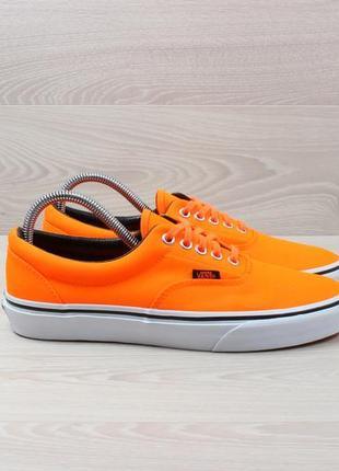 Оранжевые кеды vans оригинал, размер 41