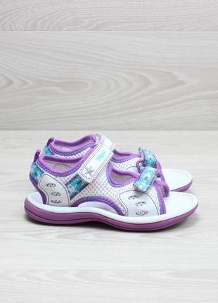 Детские сандали clarks doodles оригинал, размер 25 - 26 (босон...