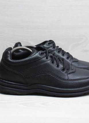 Кожаные мужские спортивные туфли rockport, размер 41 - 41.5 (б...