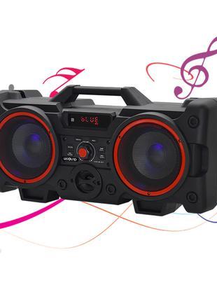 Портативный Бумбокс колонка Leisound VS 528 partybox c радиоми...