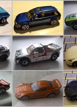 Модели Hot Wheels/Matchbox (100), машинки хот вилс/мачбокс