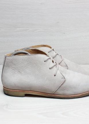 Легкие кожаные женские ботинки clarks оригинал, размер 40 (беж...