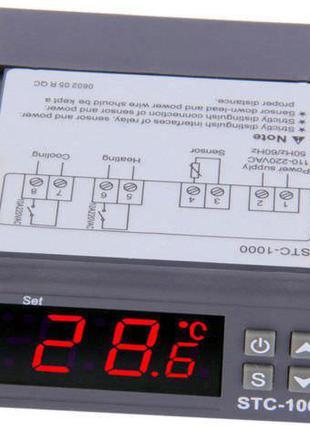 Цифровой регулятор температуры STC-1000, 220В