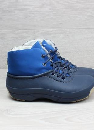 Детские резиновые ботинки crocs оригинал, размер 34
