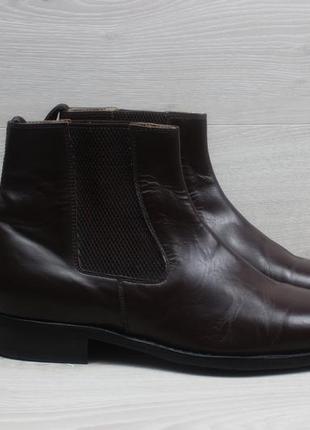 Мужские кожаные ботинки челси samuel windsor, размер 43 (chelsea)