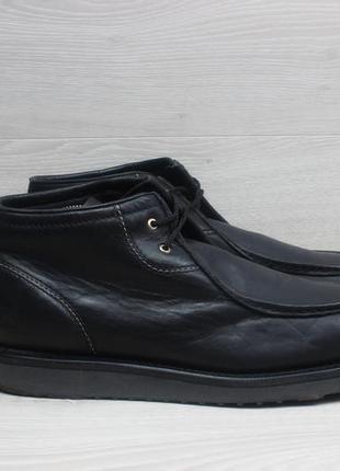 Кожаные мужские ботинки cat оригинал, размер 44 (caterpillar)