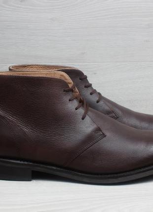 Кожаные мужские ботинки samuel windsor desert boots, размер 46...