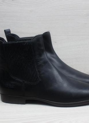 Женские кожаные ботинки chelsea ugg australia оригинал, размер...