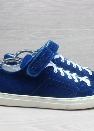 Замшевые мужские кроссовки pierre hardy оригинал, размер 43 - ...