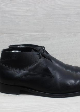 Кожаные мужские ботинки grenson england, размер 43 (дезерты, d...