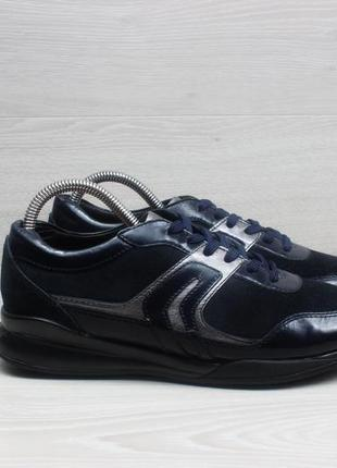Кожаные женские кроссовки geox respira оригинал, размер 39 (дж...
