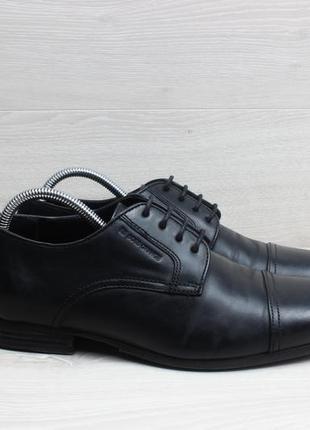 Мужские кожаные туфли boss orange оригинал, размер 42