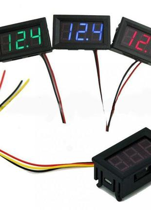 Цифровой вольтметр 100В