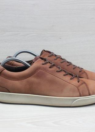 Кожаные мужские кроссовки ecco оригинал, размер 43 (экко)