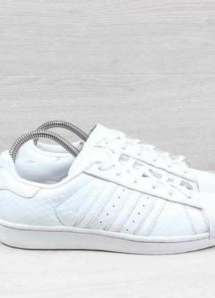 Белые кроссовки adidas superstar оригинал, размер 38