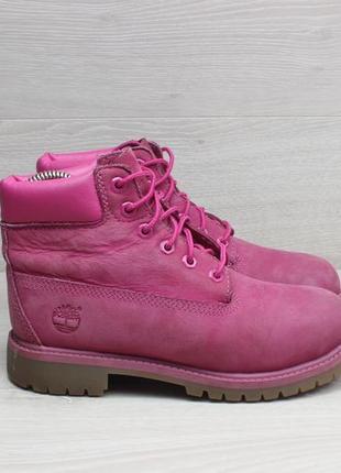 Кожаные ботинки timberland оригинал, размер 34.5