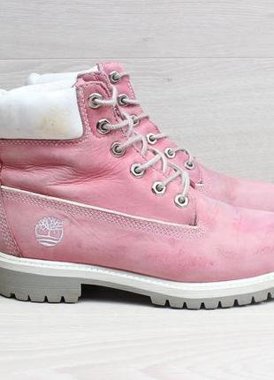 Женские кожаные ботинки timberland оригинал, размер 35.5 - 36