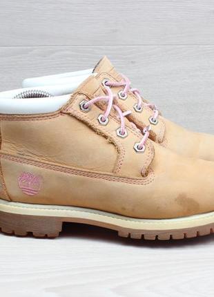 Кожаные ботинки timberland waterproof оригинал, размер 38