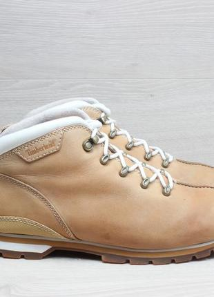 Мужские кожаные ботинки timberland оригинал, размер 42 - 42.5