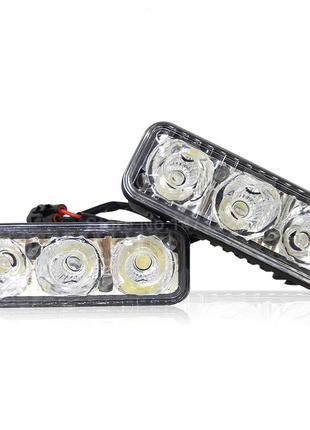 Светодиодные дневные ходовые огни LED DRL-3